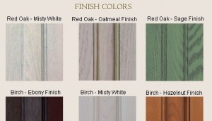 Door Finish Colors