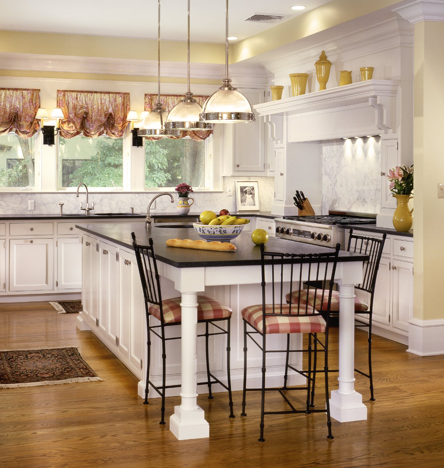 Traditional Kitchen Lighting Ideas Pictures: Craft-Maid Handmade Custom