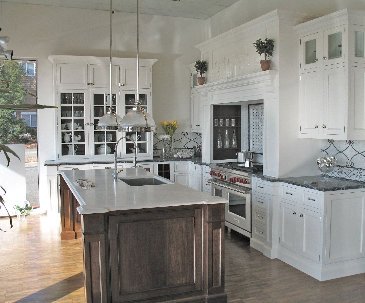 Traditional Kitchen Craft Maid Handmade Custom Cabinetry