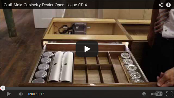 Video Craft Maid Cabinetry Open House