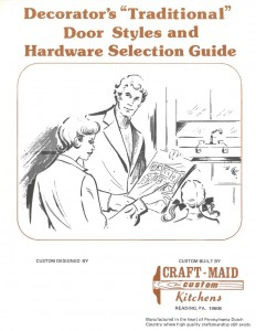"Decorator's ""Traditional"" Door Styles and Hardware Selection Guide"