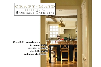 Craft-Maid Handmade Cabinetry – design, details, quality, value