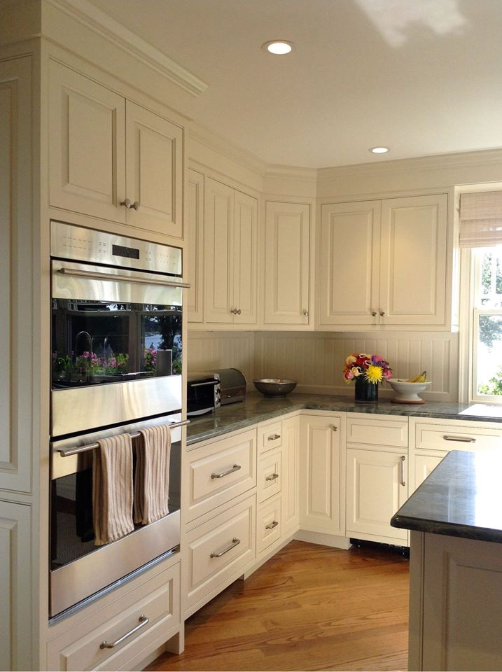 beaded inset custom kitchen - White Inset Kitchen Cabinets