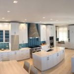 Exceptional Curved Kitchen