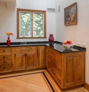 Wormy Chestnut Kitchen