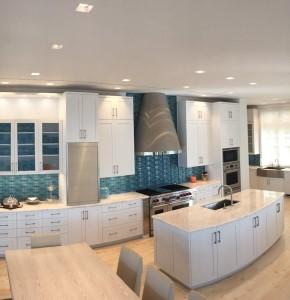 Brilliantly designed and detailed Frameless Kitchen